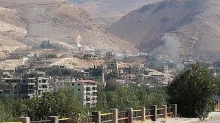 شاهد.. وادي بردى مجدداً تحت نيران ميليشيا حزب الله ونظام الأسد وتحذيرات من كارثة إنسانية كبيرة
