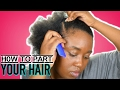 How To Part Your Hair + REFERENCE Points | DETAILED