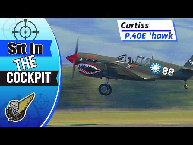 Curtiss P40-E 'hawk - WW2 Fighter Cockpit View