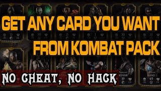 Video Mortal Kombat X Mobile Glitch. Open Kombat Pack until you get Desired Kard. (Works in 2018) download MP3, 3GP, MP4, WEBM, AVI, FLV Juli 2018