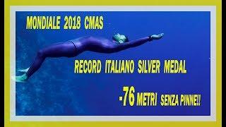 Record Italiano + Silver medal  CNF -76 Michele Giurgola