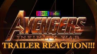Marvel Studios' Avengers Infinity War-Official Trailer- REACTION!!