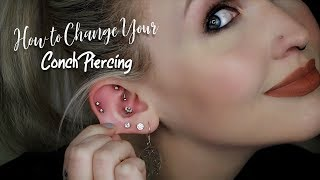 How to Change Your Conch Piercing