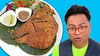 Trying Fried Pig Head aka Crispy Ulo | News Bites