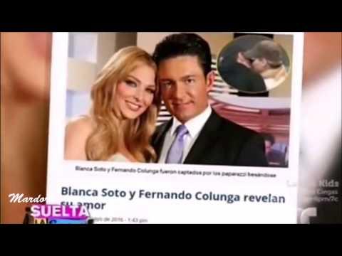 ¿Fernando Colunga  y Blanca Soto   son novios ? Carmen Salinas lo confirma