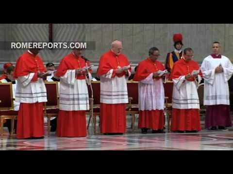 """Pope to new cardinals: Jesus does not call you to be """"princes"""" of the Church, but to serve"""