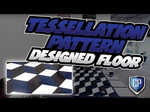 Tessellation Pattern Designed Floor
