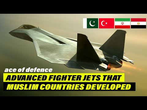 How many Muslim Countries Developed their Own Combat Jets | JF-17, TF-X, HA-300, QAHER-313 | AOD