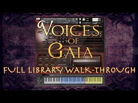 Voices Of Gaia - Full Library Walk Through