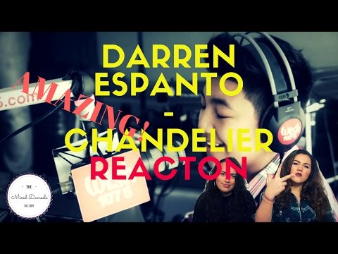 Darren Espanto - Chandelier (Sia) LIVE Cover on Wish FM 107.5 Bus | REACTION | THE MIXED DAMSELS