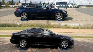 4MATIC vs QUATTRO - Mercedes W205 C200 vs Audi A6 2.0 TDI - 4x4 test on rollers