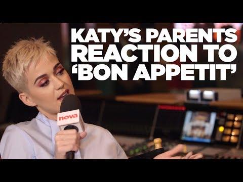Katy Perry's religious parents reaction to 'Bon Appétit'