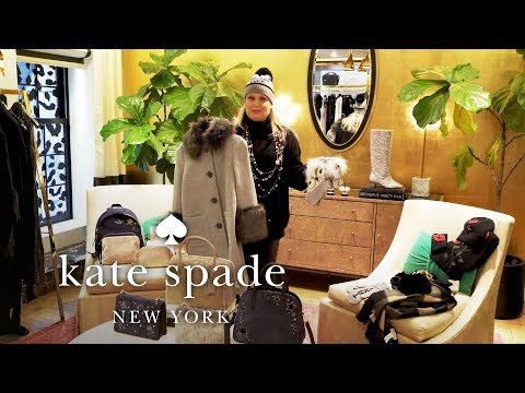 Cold Weather Essentials | November New Arrivals | Talking Shop With Tiffany | Kate Spade New York