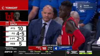 2019-2020 Kentucky vs Utah (Game 10)