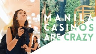 CASINO HOPPING IN MANILA   OKADA, SOLAIRE, & CITY OF DREAMS   (Taglish Vlog)