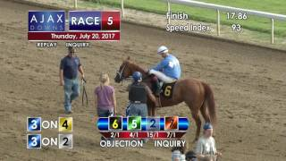 Ajax Downs, July 20, 2017, Race 5