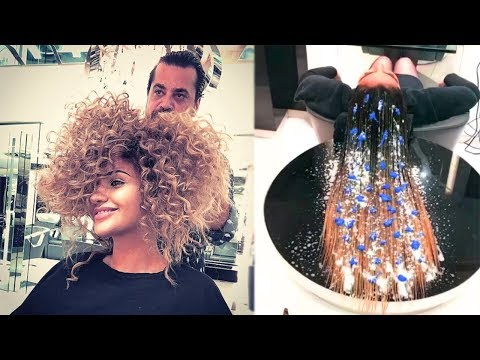Amazing Hair Transformations Compilation 2017 | New Hairstyles by Mounir