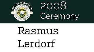 2008 Rasmus Lerdorf