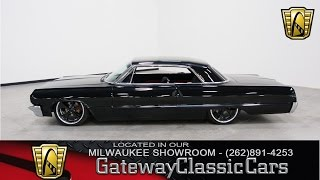Now Featured in our Milwaukee Showroom: 1964 Chevrolet Impala #153-MWK