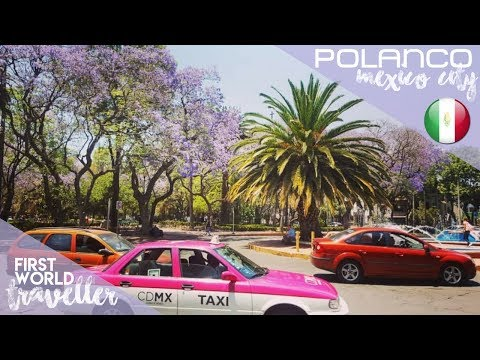 POLANCO | ONE OF Mexico City's RICHEST AREAS? | Beverly Hills of CDMX! - *Traducción en español*
