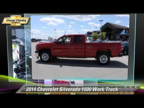New 2014 Chevrolet Silverado 1500 Work Truck - Norman ...