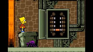 Simpsons, The   Night of the Living Treehouse of Horror (GAMEBOY COLOR)