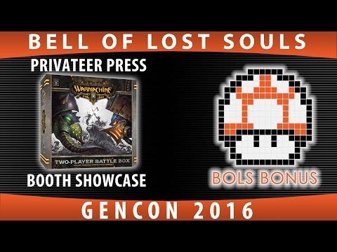BoLS Bonus | Privateer Press Booth Showcase | GenCon 2016