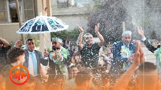 """إبراهيم صبيحات - حمام عريس """"محلا حمام الدار"""" - تراث فلسطيني"""