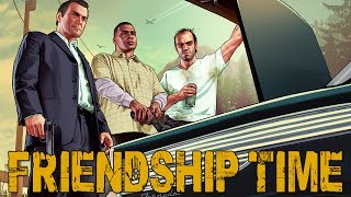 FRIENDSHIP TIME! (GTA V Online w/ Ally, Vern, & Bunni)
