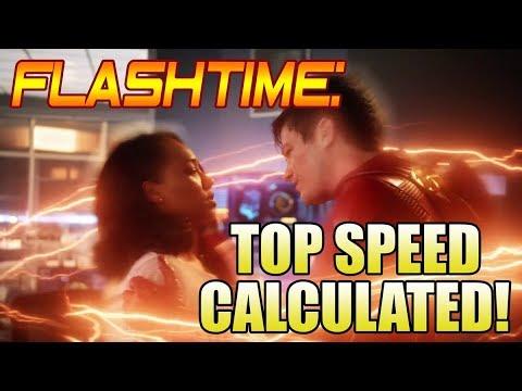 The Flash Season 4: Barry Outruns a Nuke Calculated!