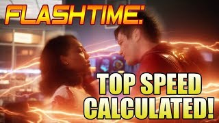 The Flash Season 4 Barry Outruns a Nuke Calculated