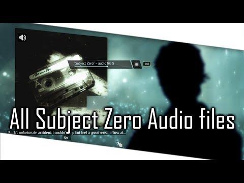 Assassin's Creed 4 Black Flag - All Subject Zero Audio Files