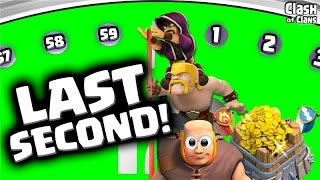 "Clash of Clans LIVE ""Last Second Attacks"" Close Clan Wars in Clash!"