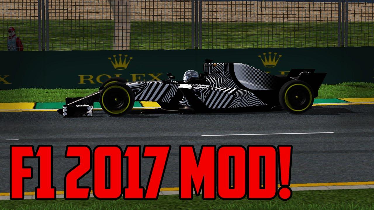 F1 2017 MOD! - rFactor Mod Showcase