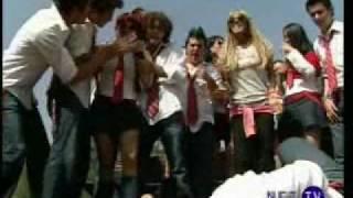 Roberta le pega a Diego por lo del Diario - Rebelde - RBD