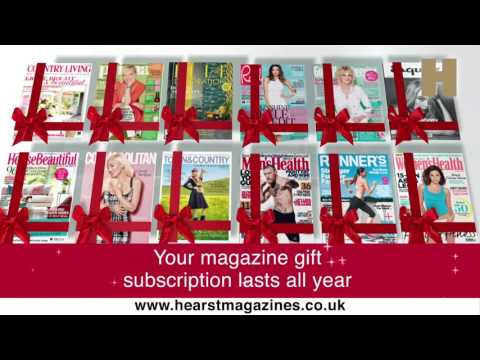 Hearst Magazines Christmas Gift Subscriptions