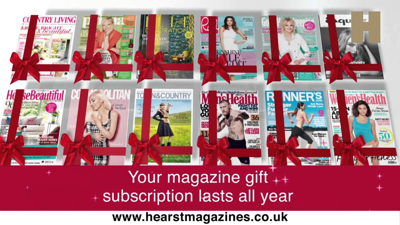 hearst magazines christmas gift subscriptions youtube