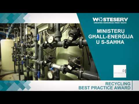 Malta Waste Reduction Awards 2015 - Nominees for Recycling Category (Part 2)