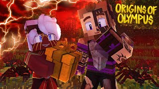 "Origins of Olympus #49 - ""A GIFT FROM MERCURY?"" (Percy Jackson Minecraft Roleplay)"