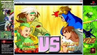 X-Men vs. Street Fighter - Rogue/Cammy - 5 Round - Master(8STAR) - PlayStation 1 - Capcom