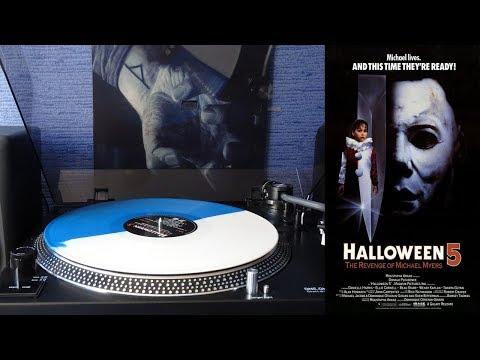 Halloween 5 (1989) The Revenge of Michael Myers Mondo Soundtrack [Full Vinyl] Alan Howarth