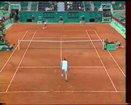 Edberg Santoro French Open 1995