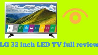 LG 32 inch HD LED TV full review (32LJ523D)