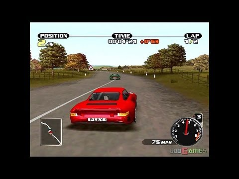 Need For Speed: Porsche Unleashed - Gameplay PSX (PS One) HD 720P (Playstation Classics)
