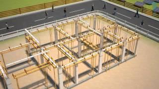 GAKIBI ALC Panel Installation Method for House
