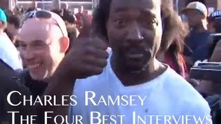 Repeat youtube video Charles Ramsey Full Four Best Interviews + Uncensored 911 Call
