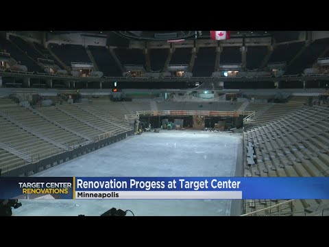 Target Center Renovation Nears Completion