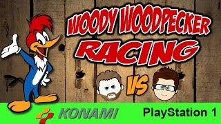 Woody Woodpecker Racing (PS1 2-Player Jamie Vs Mark)