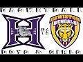 Hermiston vs. Lewiston ID boys and girls Basketball 2018