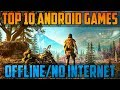 Top 10 Best OFFLINE Free Android Games 2017 - No WiFi & Fun to Play | HD |